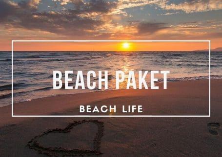 Basispaket: Strand Paket - Urlaubspaket in Rimini
